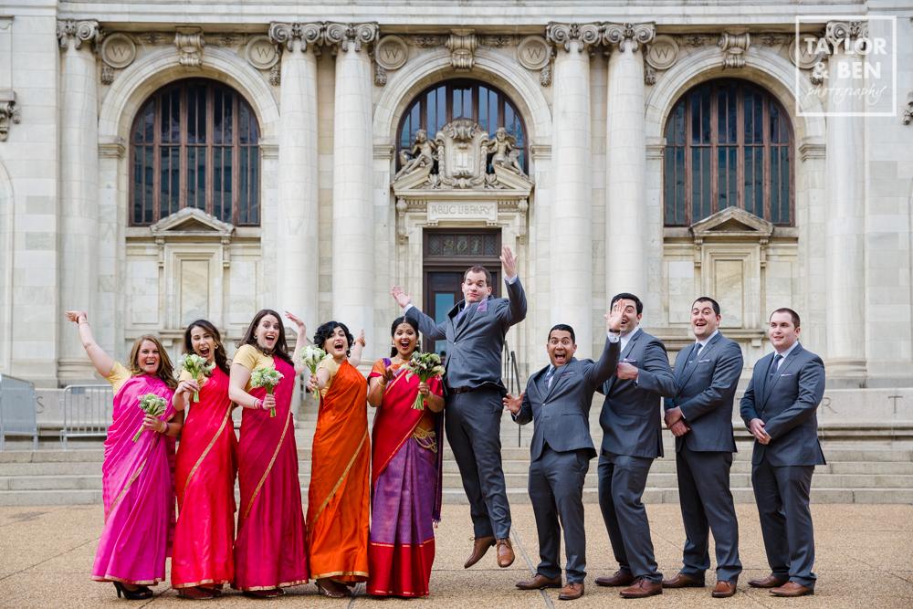 Carnegie library washington dc wedding